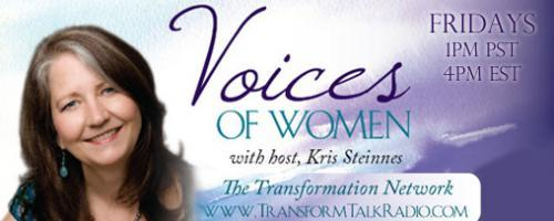 Voices of Women with Host Kris Steinnes: Kate Otto on How You Can Make a Difference by Connecting in a Disconnected World